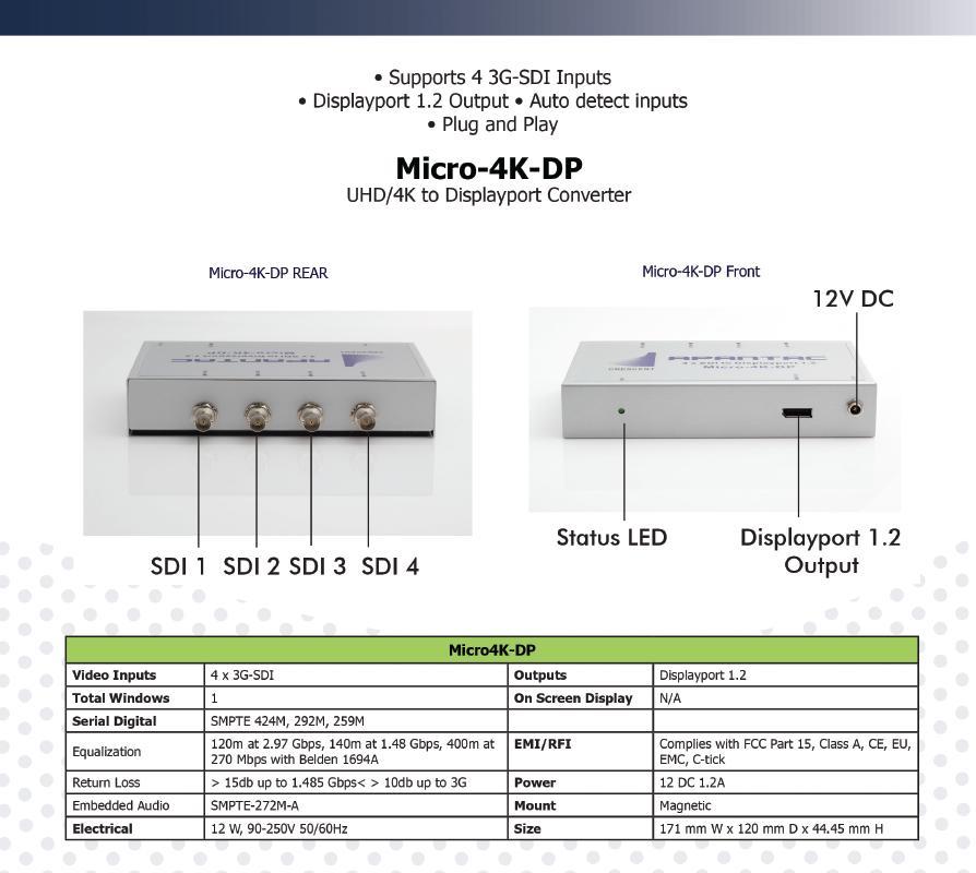 micro 4k